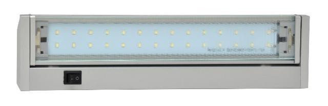 LED svítidlo GANYS TL2016-28SMD stříbrné 5W 4100K 37cm 440lm