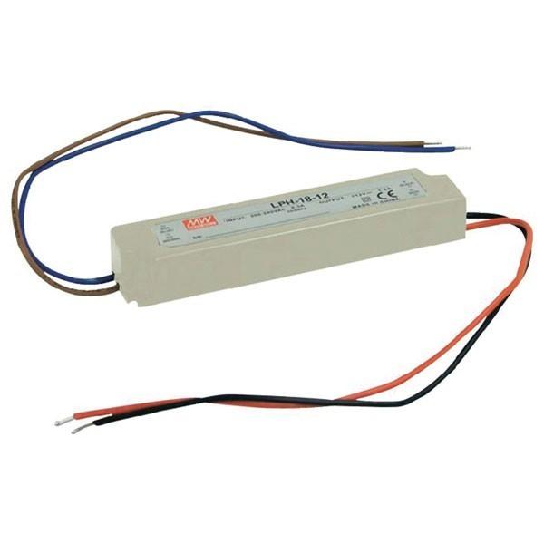 Pulzní napětový zdroj LPH-18-12 18W 12V/1,5A IP67