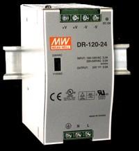 Spínaný napájecí zdroj DR-120-24 120W 24V/5A na DIN lištu
