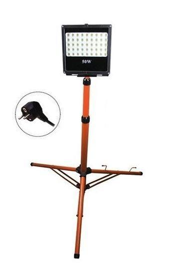 LED reflektor se stojanem 50W WM-50W-FVS 4250lm AC 230V