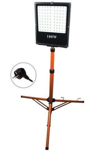 LED reflektor se stojanem 100W WM-50W-FVS 8500lm AC 230V