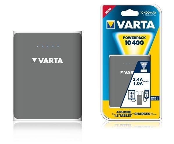 Powerbank VARTA 10400mA 2xUSB+1xmicroUSB - BV57961