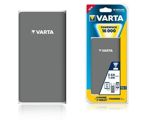 Powerbank VARTA 16000mA 2xUSB+1xmicroUSB - BV57962