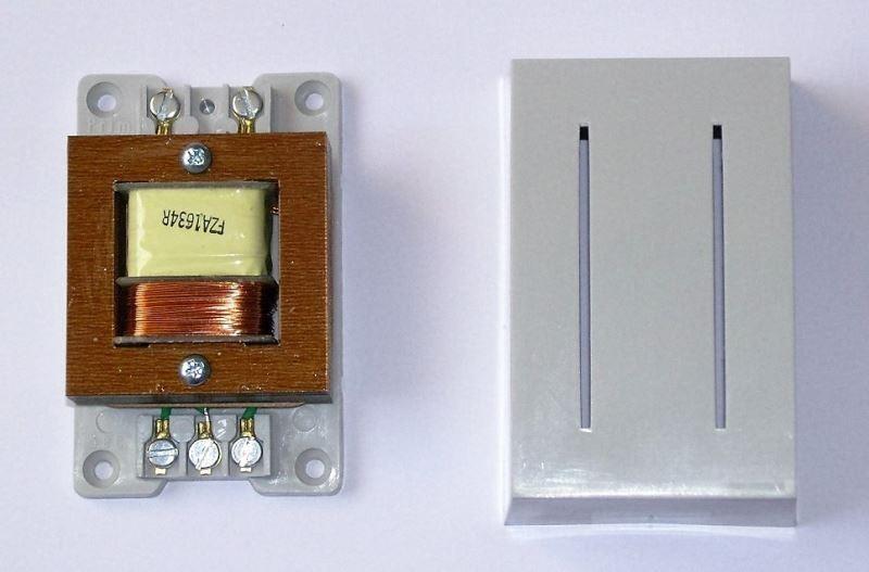 Zvonkový transformátor 230V/4-8-12V/1A 1A8016