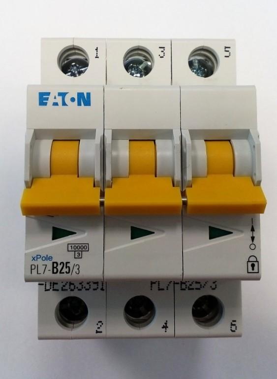 Jistič EATON PL7-B25/3 - 263391