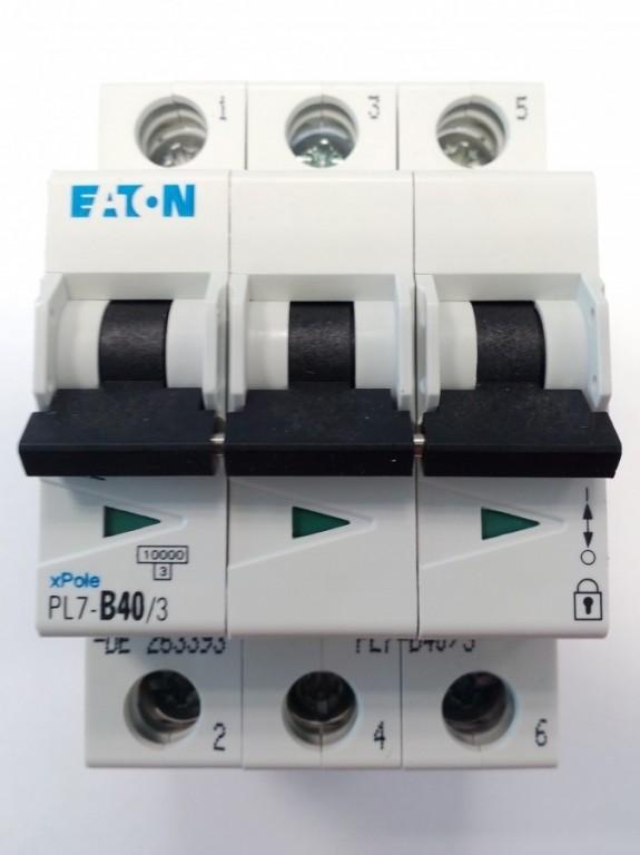 Jistič EATON PL7-B40/3 - 263393