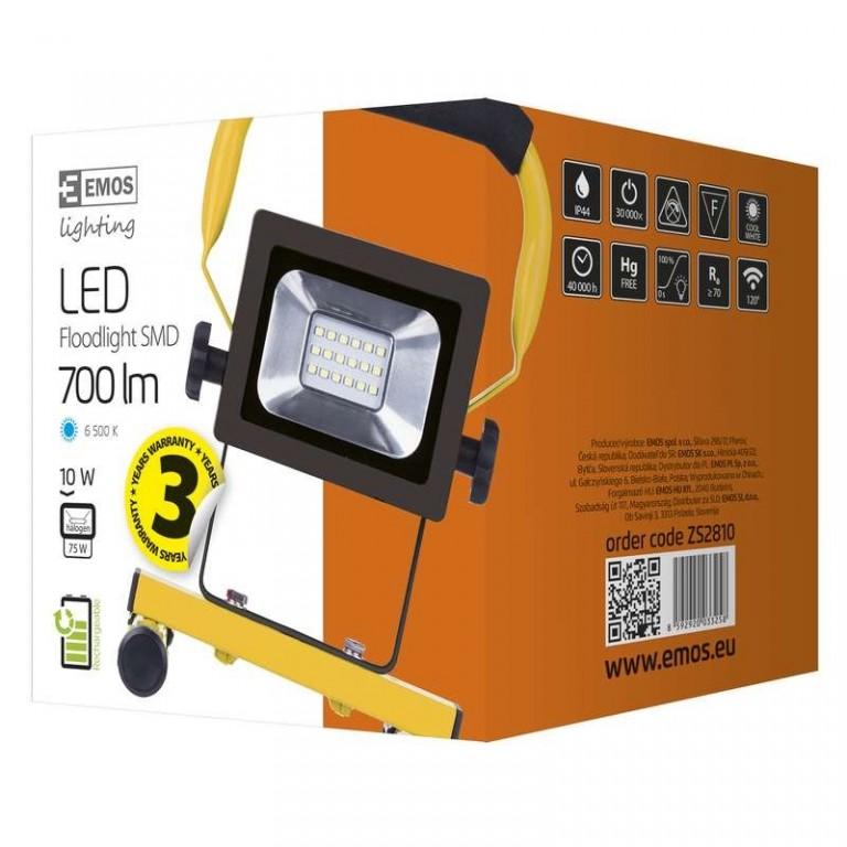 LED reflektor AKU SMD, 10W SP2 - ZS2810