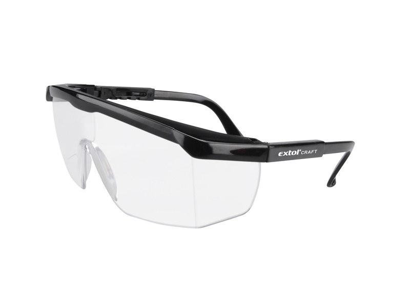 Brýle ochranné čiré EXTOL CRAFT - 97301