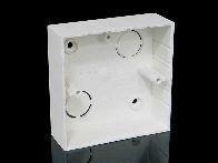 Krabice lištová LK 80x28/1 HB-hranatá hluboká