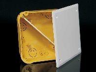 Krabice přístr. do dutých stěn KO 110/L s víčkem a přepážkou