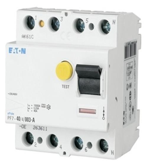 Chránič proudový EATON PF7-40/4/003 - 263586