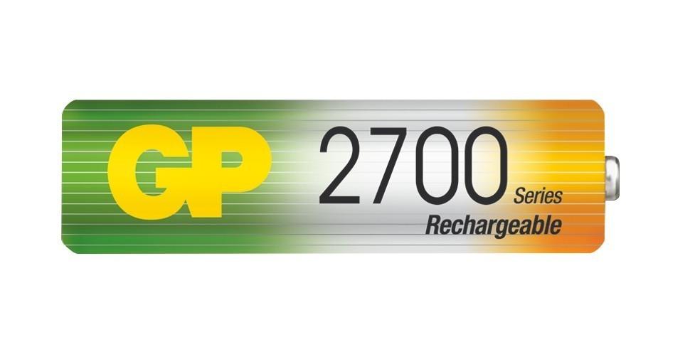 Nabíjecí baterie GP NiMH 2700 series AA (tužka)