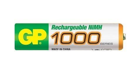 Nabíjecí baterie GP NiMH 1000 mAh AAA (mikrotužka)