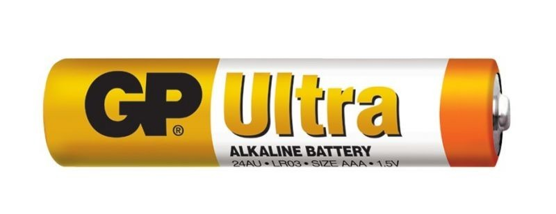 Baterie GP Ultra Alkaline R03 (AAA, mikrotužka)