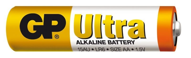 Baterie GP Ultra Alkaline R6 (AA, tužka)