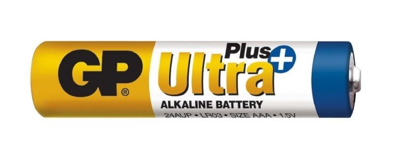 Baterie GP Ultra Plus Alkaline R03 (AAA, mikrotužka)