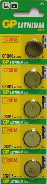 Baterie GP CR2016