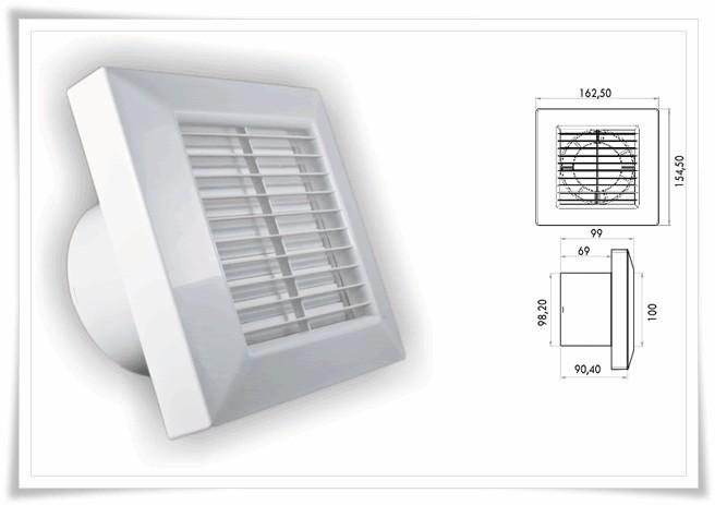 Ventilátor PRIMO 100 base A