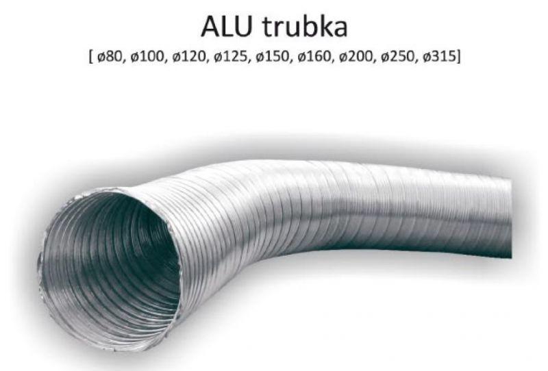 ALU trubka 125/1m