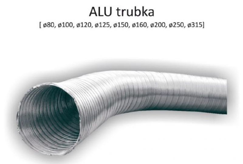 ALU trubka 150/1m