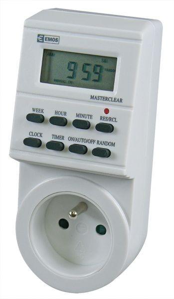 Digitální spínací zásuvka TS-EF1 - P5501