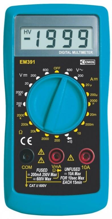 Multimetr EM391 - M0391