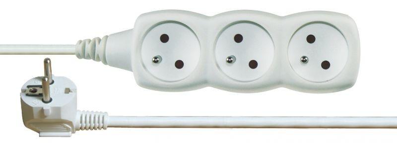Prodlužovací kabel 3 zásuvky 2m - P0312