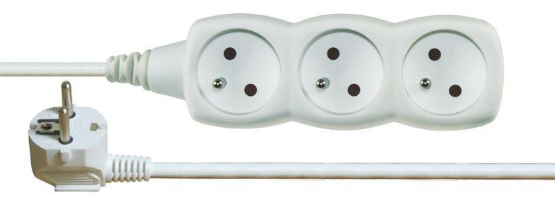 Prodlužovací kabel 3 zásuvky 3m - P0313