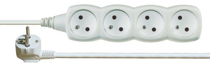 Prodlužovací kabel 4 zásuvky 2m - P0412
