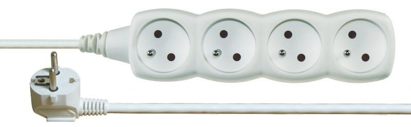 Prodlužovací kabel 4 zásuvky 3m - P0413