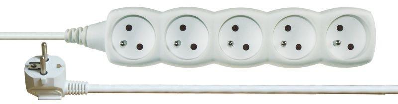 Prodlužovací kabel 5 zásuvek 5m - P0515