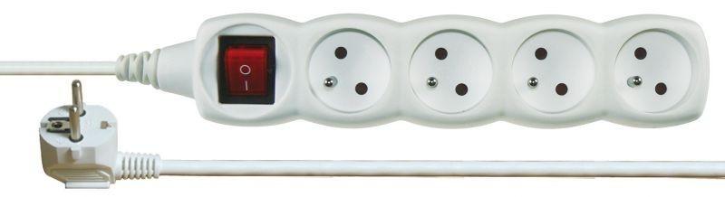 Prodlužovací kabel s vypínačem 4 zásuvky 7m - P1417