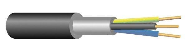 Kabel CYKY-O 3x1,5 ( 3Ax1,5 )