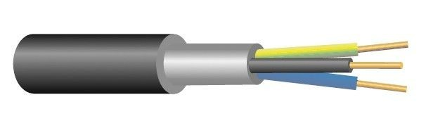 Kabel CYKY-J 3x4 ( 3Cx4 )