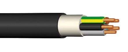 Kabel CYKY-J 4x6 ( 4Bx6 )