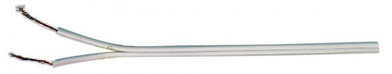 Dvojlinka 2x0,35mm bílá - S8231