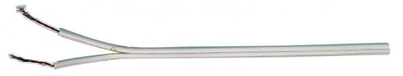 Dvojlinka 2x0,50mm bílá - S8251