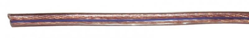 Dvojlinka 2x0,75mm průhledná - S8307