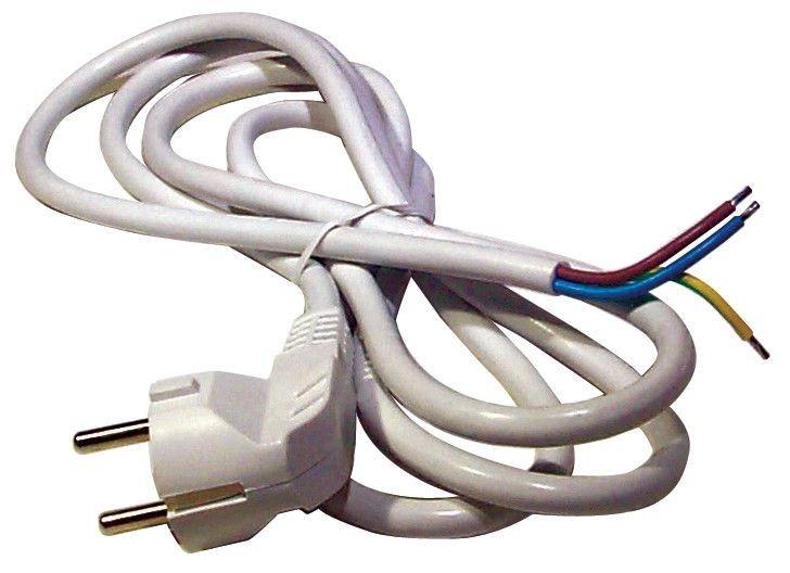 Flexošňůra 3x1,5mm 3m bílá - S14323