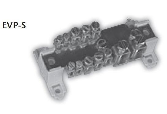 Ekvipotenciální svorkovnice bez krytu SEZ EVP-S