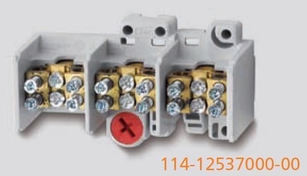 Odbočovací svorkovnice průřez 25mm2 WERIT 114-12537000-00