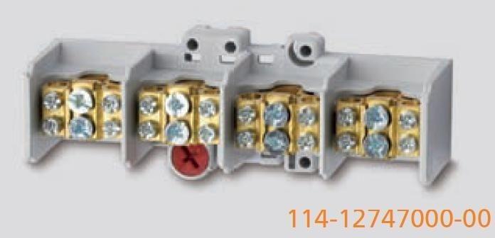 Odbočovací svorkovnice průřez 35mm2 WERIT 114-12747000-00
