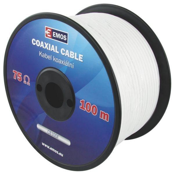 Koaxiální kabel CB100F 100m - S5141