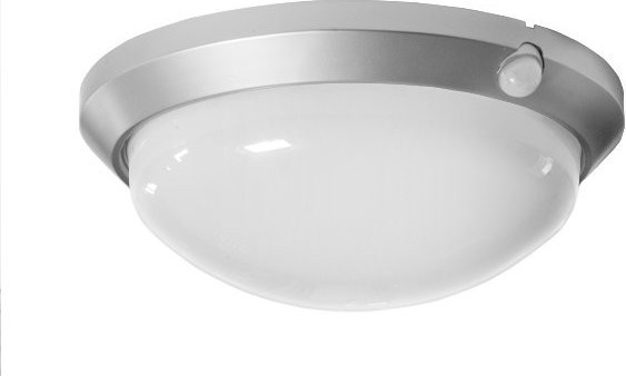 Svítidlo OLGA 60W + PIR senzor OS-60/CH - Stříbrná