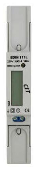 Elektroměr EDIN 111L, 1fázový 5-45A 1M - LCD displej