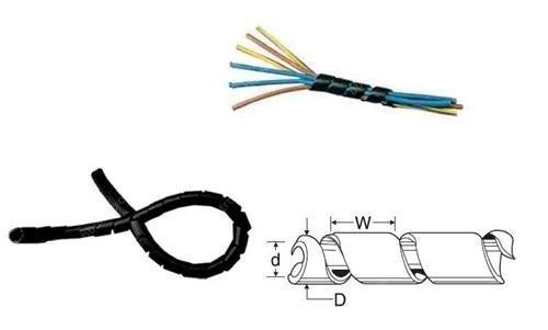 Spirála svazkovací SPC 4 T 4-20 černá