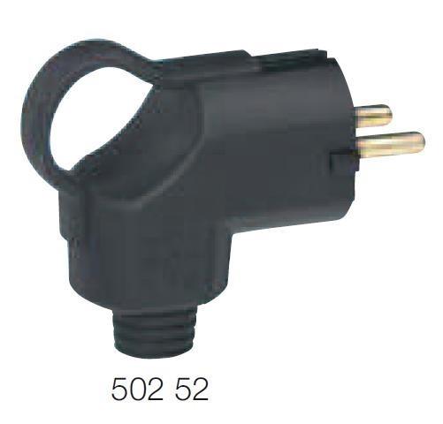 Vidlice s rukojetí a bočním vývodem IP44 - 502 52