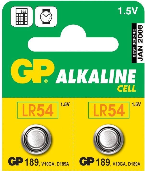 Baterie GP 189 LR54