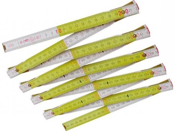Metr skládací dřevěný 1m - 3021