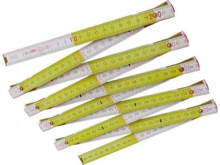Metr skládací dřevěný 2m - 3022